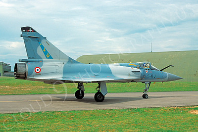 Dassault Mirage 2000 00009 Dassault Mirage 2000 French Air Force 5-OJ 13 May 2003 by S W D Wolf
