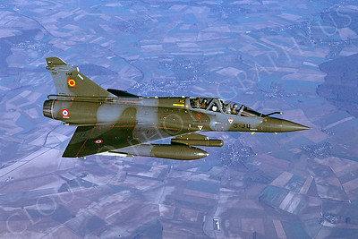 Dassault Mirage 2000 00014 Dassault Mirage 2000 French Air Force 3-JU via African Aviation Slide Service