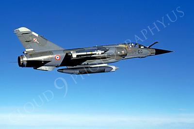 Dassault Mirage F-1 00004 Dassault Mirage F-1 French Air Force 33-CD February 1996 via African Aviation Slide Service