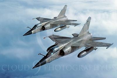 Dassault Mirage F1 00014 Dassault Mirage F1 French Air Force February 1992 via African Aviation Slide Service