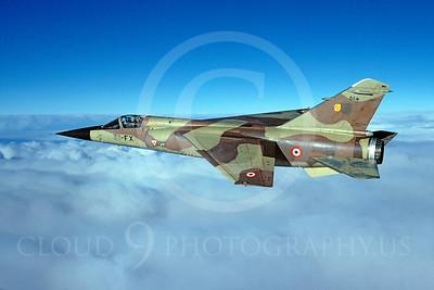 Dassault Mirage F1 00010 Dassault Mirage F1 French Air Force 33-FX February 2000 via African Aviation Slide Service