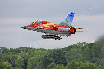 AB-F-1 00012 Dassault Mirage F-1-B French Air Force by Peter J Mancus