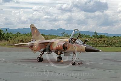 Dassault Mirage F-1 00005 Dassault Mirage F-1 French Air Force 33-F1 via African Aviation Slide Service