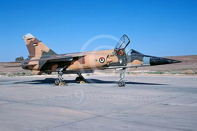 Dassault Mirage F1 00019 Dassault Mirage F1 Jordanian Air Force via African Aviation Slide Service