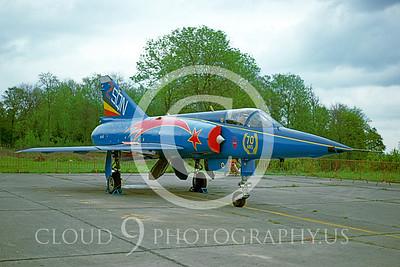EE-Mirage 00005 Dassault Mirage III Belgium Air Force June 1987 via AASS