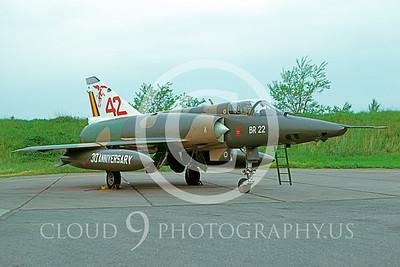 EE-Mirage 00007 Dassault Mirage III Belgum Air Force # BR 22 via AASS