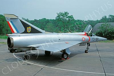 Dassault Mirage III 00011 Dassault Mirage III French Air Force 13-SP via African Aviation Slide Service