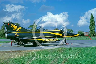 EE-Mirage 00003 Dassault Mirage III Belgium Air Force Oct 1987 via AASS