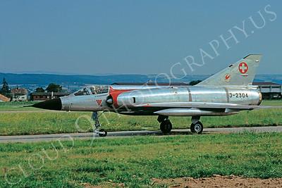 Dassault Mirage III 00031 Dassault Mirage III Swiss Air Force J-2304 August 1972 by Lars Soldeus