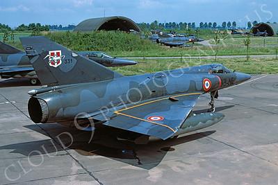 Dassault Mirage III 00019 Dassault Mirage III French Air Force 33-NE June 1979 by Wilfried Zetsche