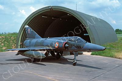Dassault Mirage III 00017 Dassault Mirage III French Air Force 33-NN July 1979 by Wilfried Zetsche