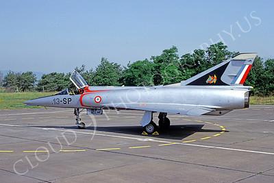 Dassault Mirage III 00011 Dassault Mirage 111 French Air Force 13-SP June 1992 by Michel Fournier via African Aviation Slide Service