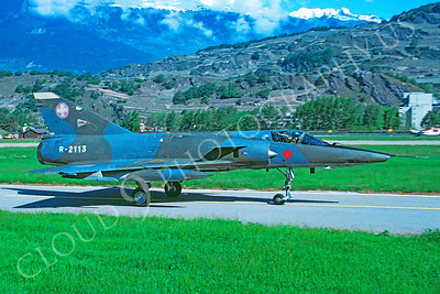 Dassault Mirage III 00005 Dassault Mirage III Swiss Air Force R-2113 by Christoph Kugler via African Aviation Slide Service