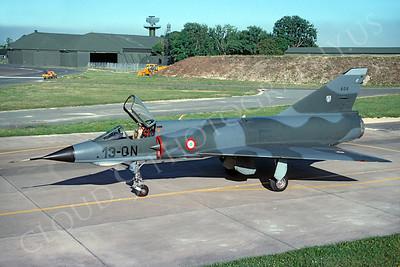 Dassault Mirage III 00009 Dassault Mirage III French Air Force 13-QN July 2001 via African Aviation Slide Service