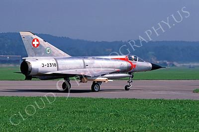 Dassault Mirage III 00013 Dassault Mirage III Swiss Air Force J-2318 September 1988 by Tom Van Schaik