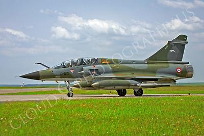 Dassault Mirage IIIB 00001 Dassault Mirage IIIB French Air Force 4-AG by Paul Ridgway