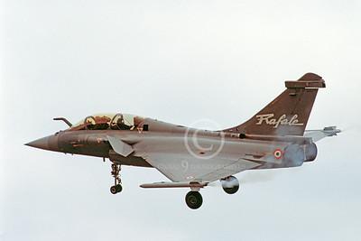 Dassault Rafale 00020 Dassault Rafale French Air Force 17 June 2005 by Stephen W D Wolf