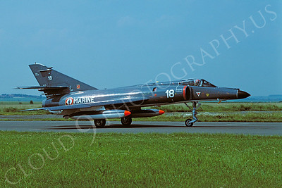Dassault Super Etendard 00007 Dassault Super Etendard French Navy June 1979 by Wilfried Zetsche