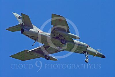 Dassault Super Etendard 00042 Dassault Super Entendard French Navy military airplane picture by Stephen W D Wolf