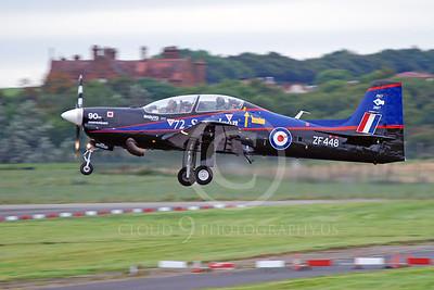 EMB-312 00046 EMBRAER EMB-312 Tucano British RAF ZF488 by Alasdair MacPhail