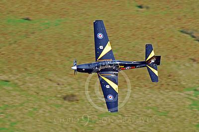 EMBRAER EMB-312 Tucano 00020 British RAF Tucano ZF292 by Alasdair MacPhail