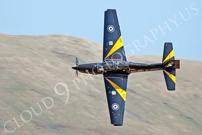 EMBRAER EMB-312 Tucano 00066 EMBRAER EMB-312 Tucano British RAF ZF378 by Alasdair MacPhail