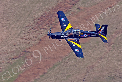 EMBRAER EMB-312 Tucano 00078 EMBRAER EMB-312 Tucano British RAF ZF205 by Alasdair MacPhail