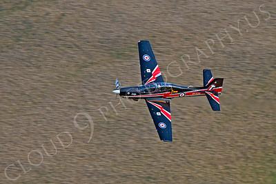 EMBRAER EMB-312 Tucano 00024 EMBRAER EMB-312 Tucano British RAF ZF338 by Alasdair MacPhail