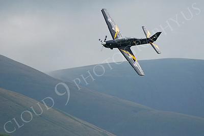 EMBRAER EMB-312 Tucano 00010 British RAF Tucano by Alasdair MacPhail