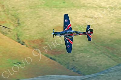 EMBRAER EMB-312 Tucano 00016 British RAF Tucano ZF338 by Alasdair MacPhail