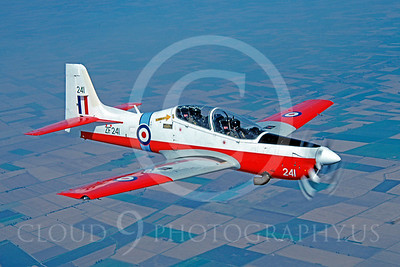 Embraer EMB-312 Tucano 00004 Embraer EMB-312 Tucano British RAF ZF241 6 August 1992 by Robbie Shaw via African Aviation Slide Service