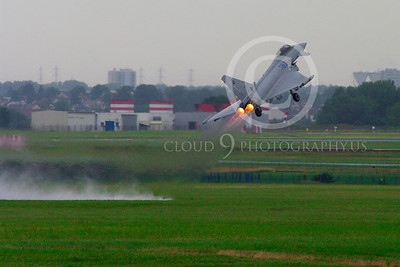 AB - Typ 00074 Eurofiighter Typhoon Italian Air Force afterburner aircraft picture by Stephen W D Wolf