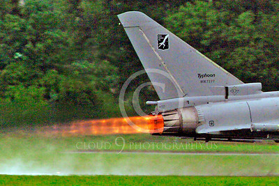 AB - Typ 00043 Eurofiighter Typhoon Italian Air Force afterburner aircraft picture by Stephen W D Wolf
