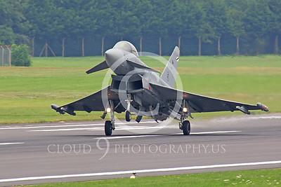 Eurofighter Typhoon 00001 Spanish Air Force by Peter J Mancus