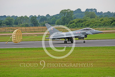 Eurofighter Typhoon 00005 British Royal Air Force ZJ920 by Peter J Mancus