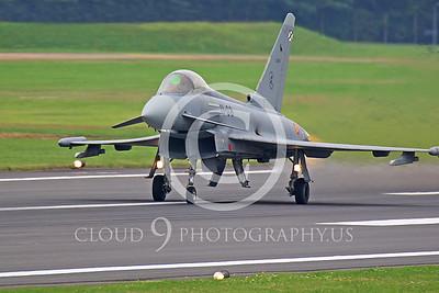 Eurofighter Typhoon 00003 Spanish Air Force by Peter J Mancus