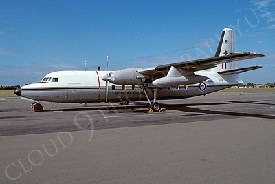 Fokker F27 Friendship 00013 Fokker F27 Friendship Royal New Zealand Air Force NZ2781 via African Aviation Slide Service