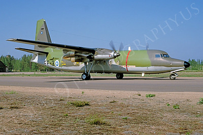 Fokker F27 Friendship 00009 Fokker F27 Friendship Finnish Air Force FF-3 via African Aviation Slide Service