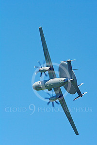 E-2Forg 00008 Grumman E-2 Hawkeye French Navy military airplane picture by Stephen W D Wolf