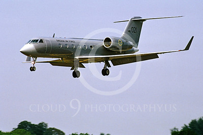 GulfstreamAerospaceForg 00002 Gulfstream Aerospace Gulfstream Swedish Air Force 021 19 July 1996 by Stephen W D Wolf