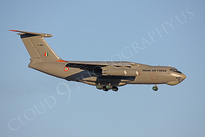Ilyushin Il-76 Candid 00004 Indian Air Force K-2661 by Peter J Mancus