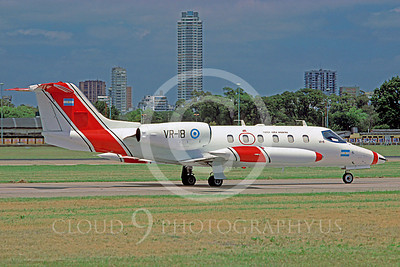 Learjet 35Forg 00001 Learjet 35 Argentine Air Force VR-18 January 1996 by Dick Lohuis via African Aviation Slide Service