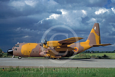 C-130Forg 00007 Lockheed C-130 Hercules Camerron Air Force TJX-AD July 1988 via African Aviation Slide Service