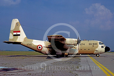 C-130Forg 00009 Lockheed C-130 Hercules Egyptian Air Force SU-BAE via African Aviation Slide Service