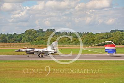 CHUTE 00103 Lockheed Martin F-16 Fighting Falcon Netherlands Air Force by Peter J Mancus