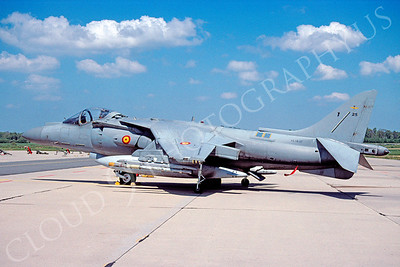 McDonnell Douglas AV-8B Harrier II 00001 McDonnell Douglas AV-8B Harrier II Spanish Air Force May 2005 via African Aviation Slide Service