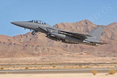 F-15FORG 00012 McDonnell Douglas F-15K Strike Eagle Republic of Koreas Air Force 02039 Nellis AFB by Peter J Mancus