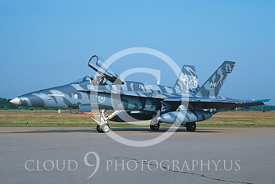 EE-F-18FORG 00003 McDonnell Douglas CF-18 Hornet Canadian Armed Forces # 188764 July 1992 via AASS