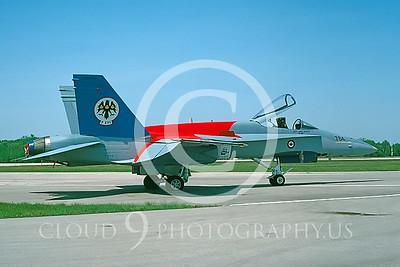EE-F-18FORG 00005 McDonnell Douglas CF-18 Hornet Canadian 1996 by Regent Dansereau via AASS