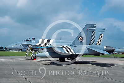 EE-F-18FORG 00009 McDonnell Douglas CF-18 Hornet Canadian Armed Forces July 1994 via AASS